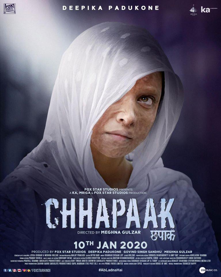 Chhapaak, Deepika Padukone