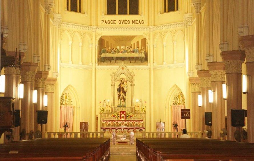 Chapel, St Joseph Pontifical Seminary, Aluva