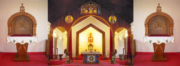 Seminary Chapel at Vadavathoor Seminary