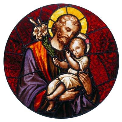 St Joseph Glass Art