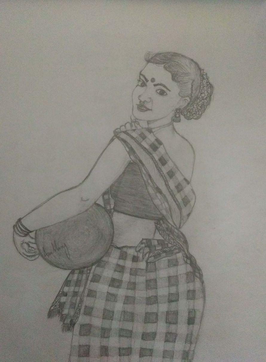 Drawing by Ann Mary Rajan 04