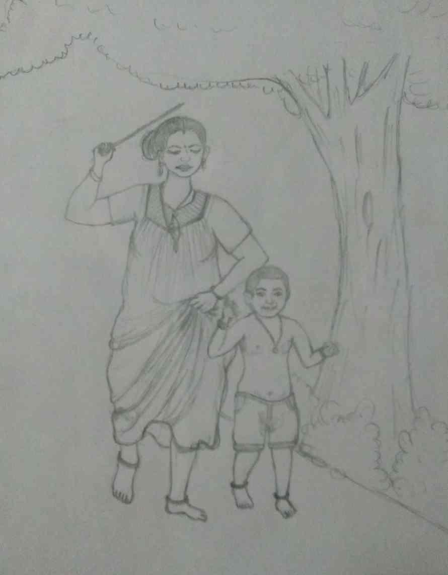Drawing by Ann Mary Rajan 17