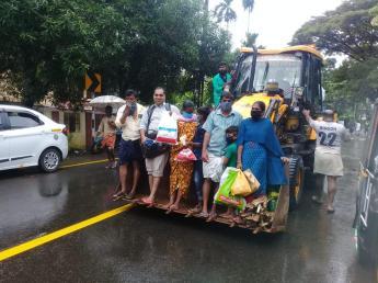 People Rescued from Kuttanadu (1)