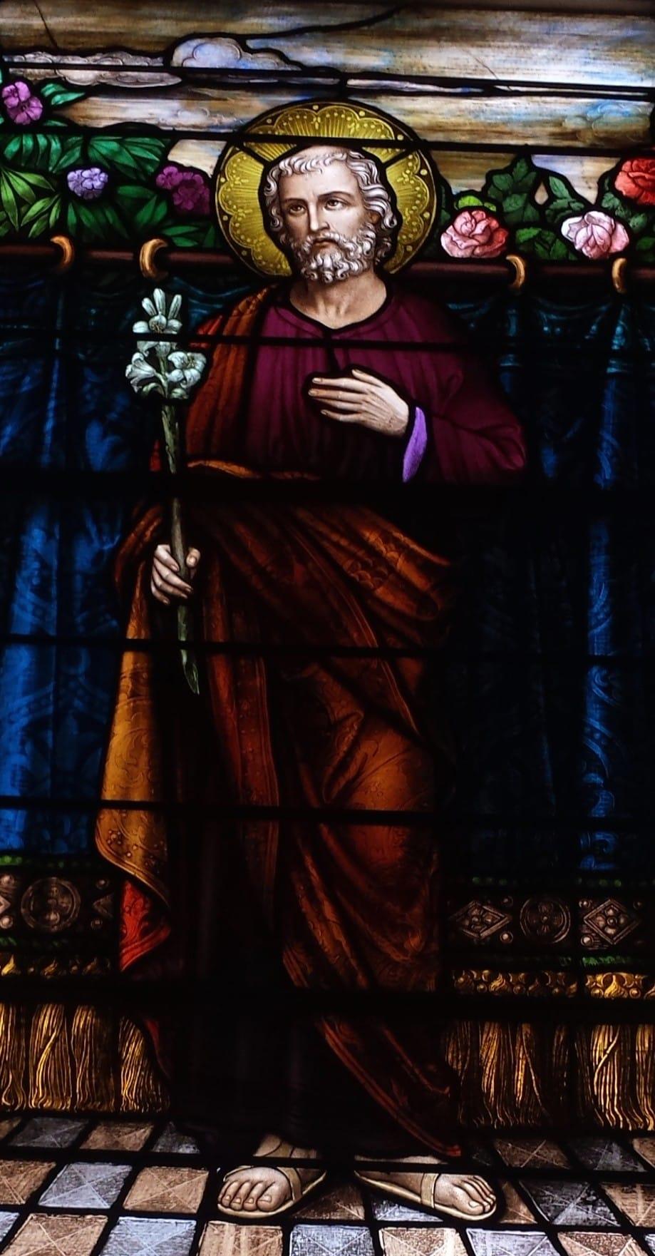 St. Joseph, Glass Art