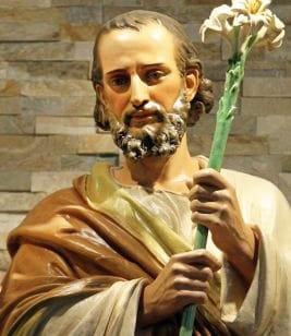 St. Joseph with Lillies