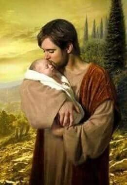 St. Joseph Kissing Child Jesus
