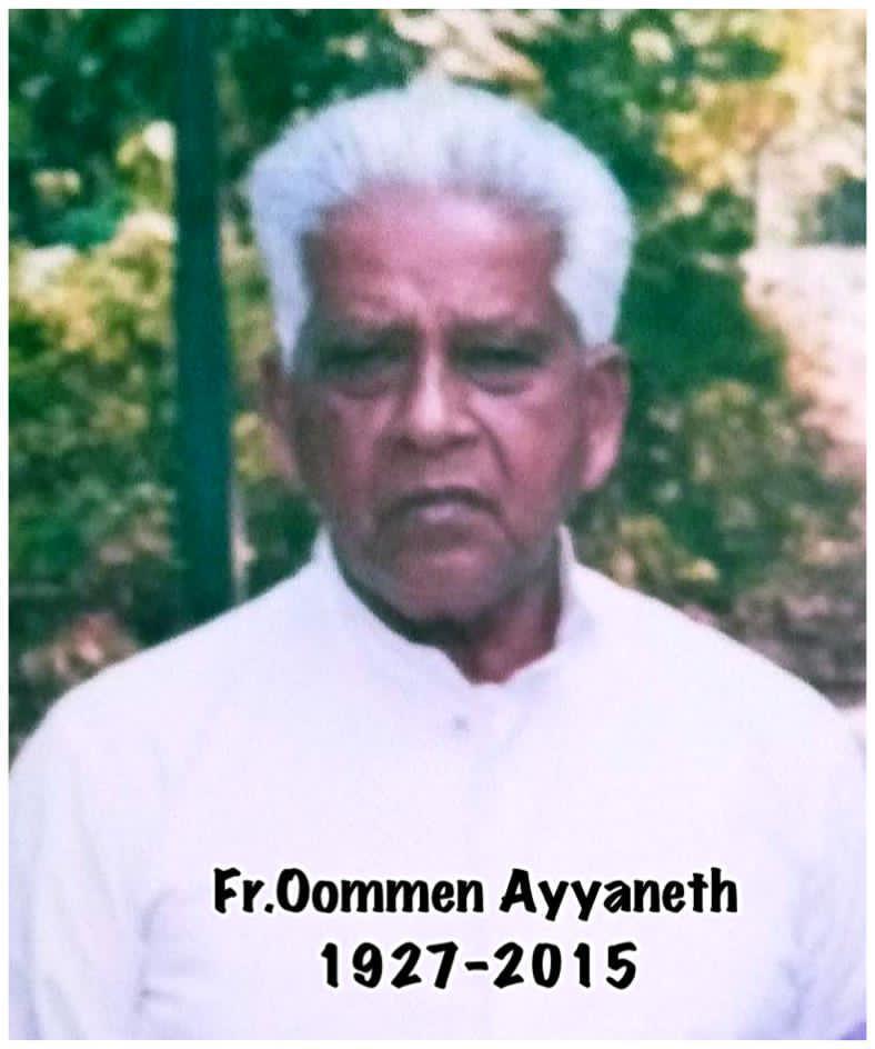 Fr Oommen Ayyaneth (1927-2015)