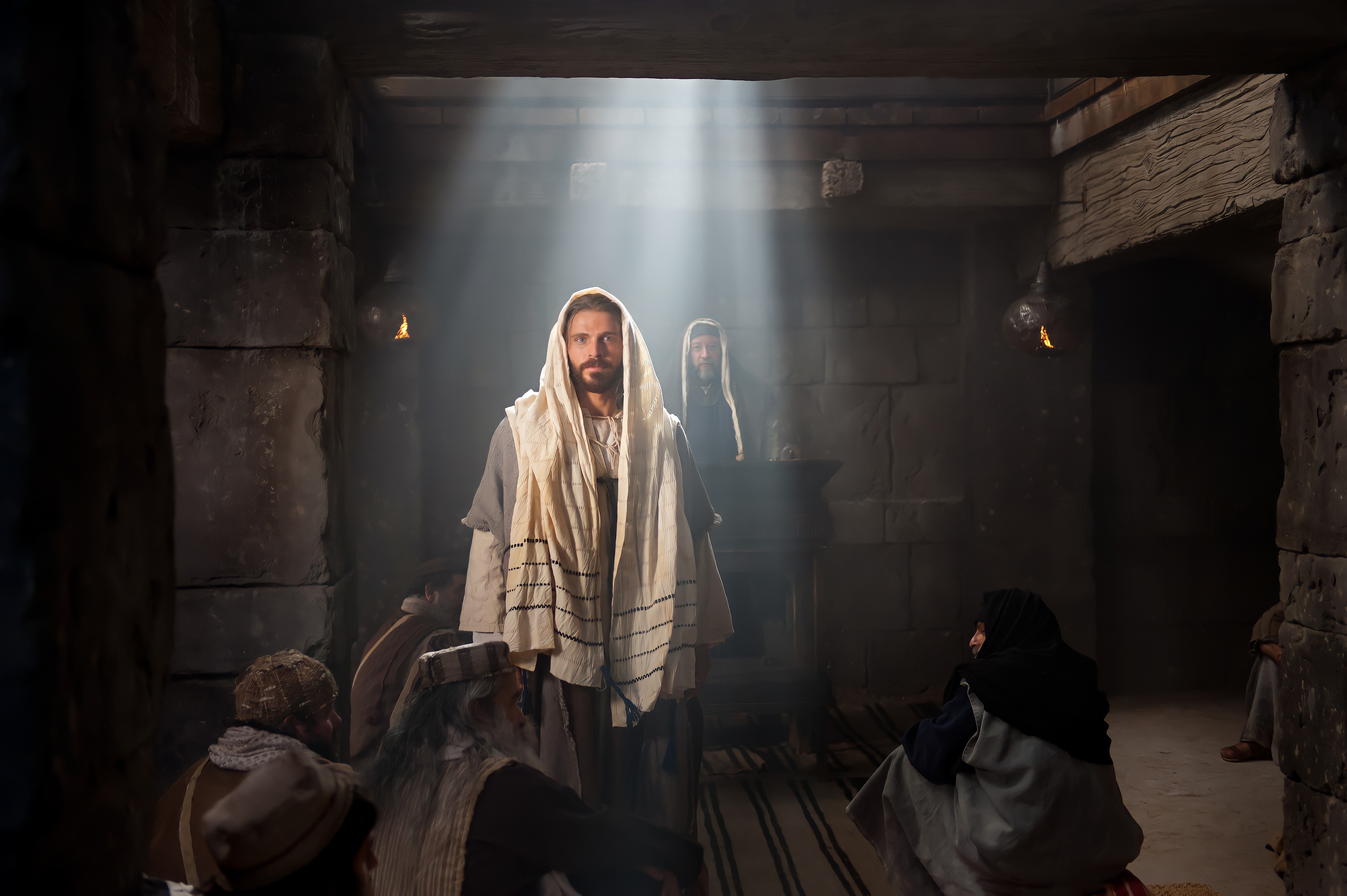 Jesus in the Temple