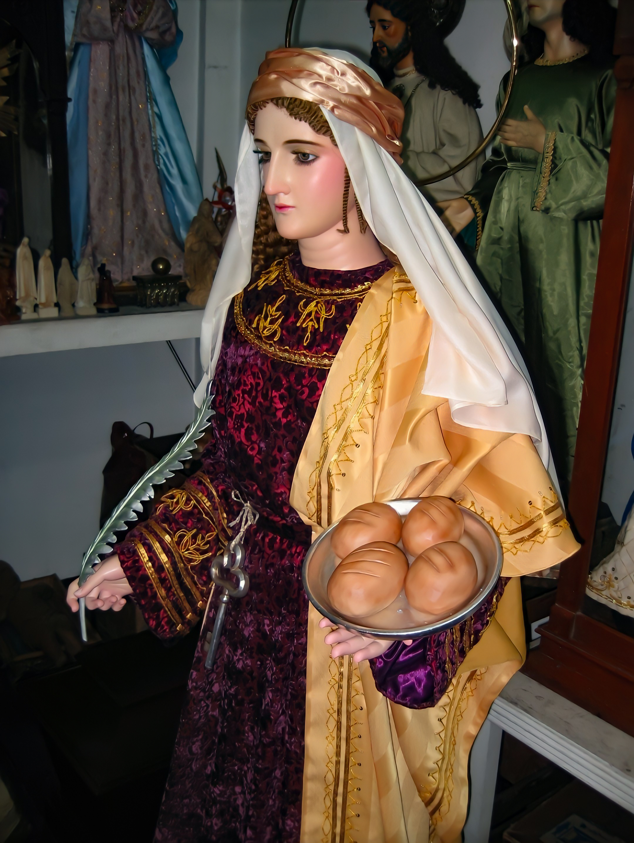 St Martha of Bethany Patroness of  Butlers