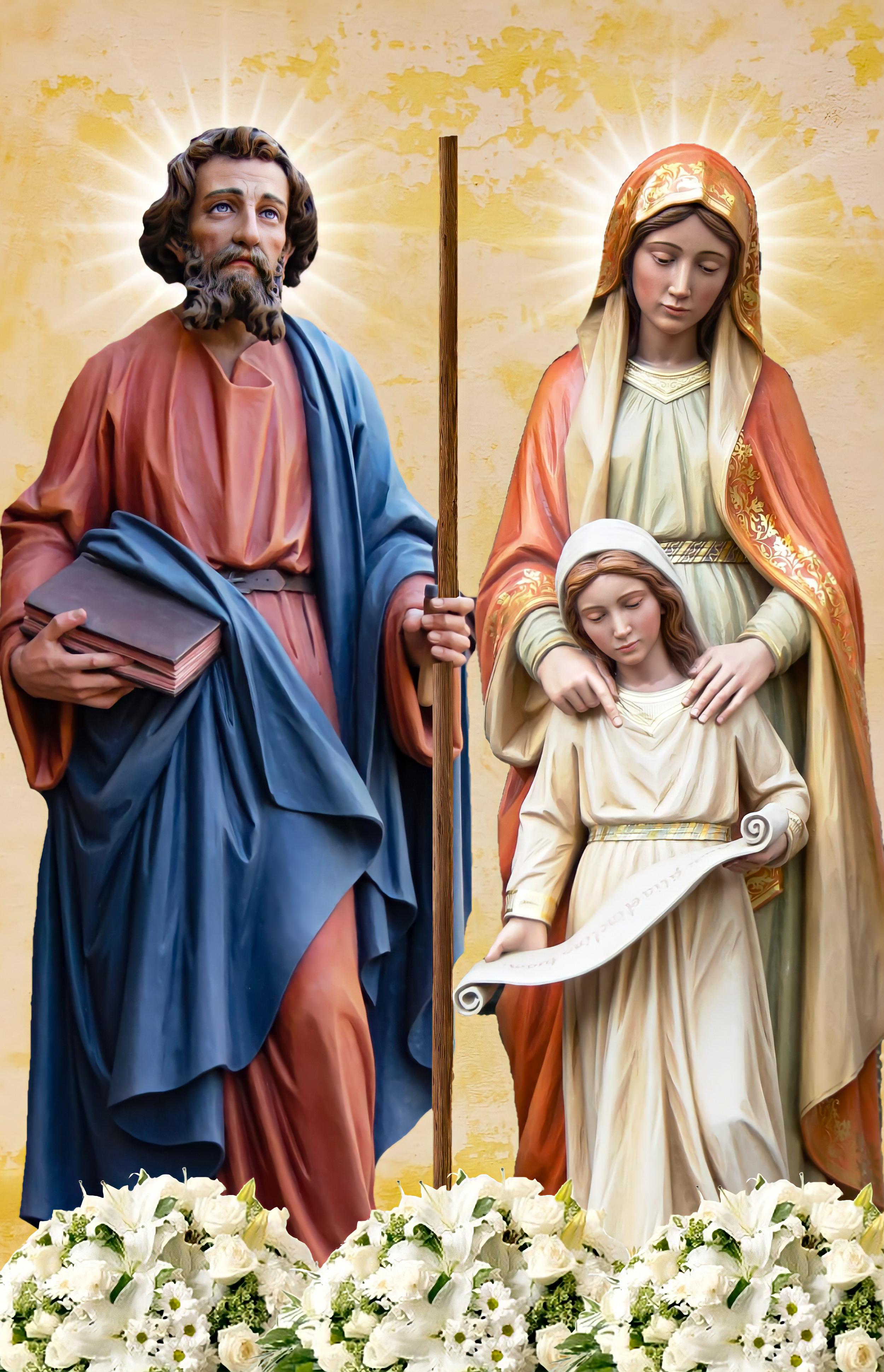 അനുദിന വിശുദ്ധർ   ജൂലൈ 26   Daily Saints   July 26   Sts. Joachim & Anne   വിശുദ്ധ ജോവാക്കിമും വിശുദ്ധ ഹന്നായും