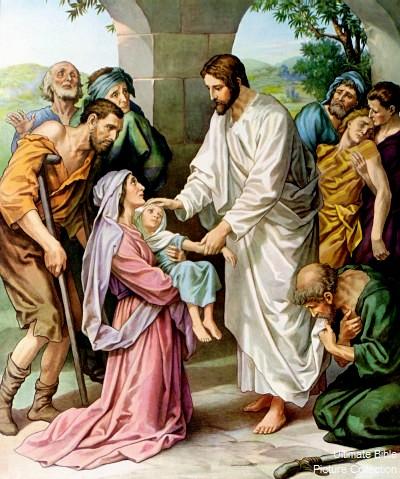 GOSPEL MT 15:21-28   Praying Through the Scriptures