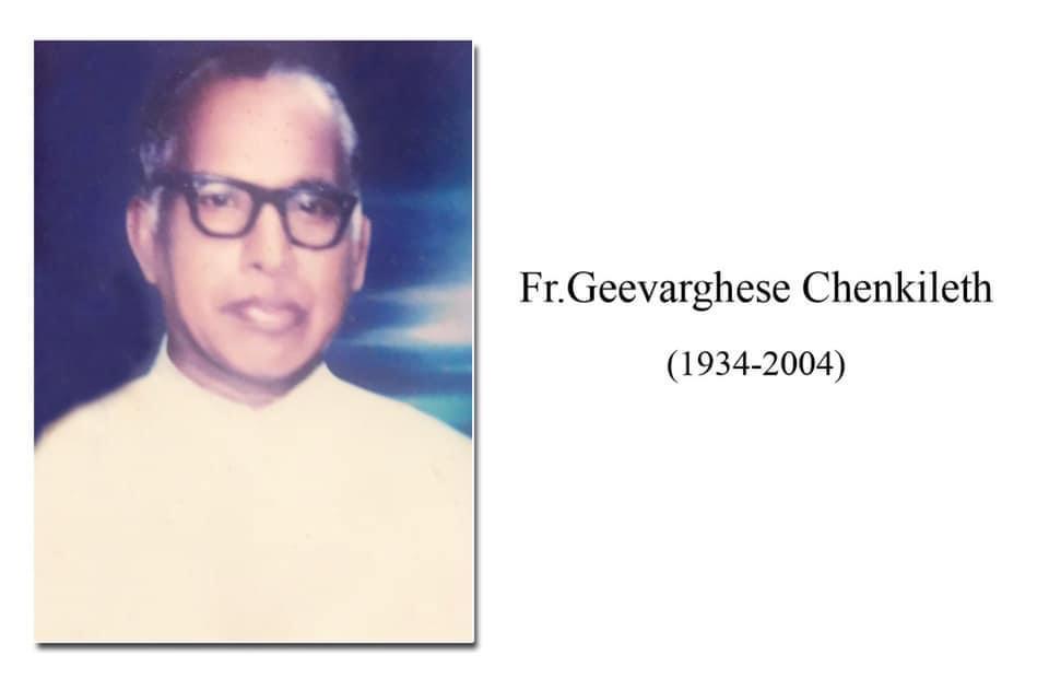 Rev. Fr Geevargheese Chenkileth